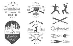 Set of Vector Logo and Badges Baseball Stock Photo