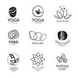 Set of vector logo elements. Royalty Free Stock Image