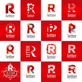 Set of vector logo letter R Royalty Free Stock Photography