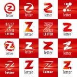 Set of vector logo letter Z Royalty Free Stock Image