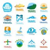 Set of vector logos for travel Stock Photos
