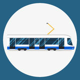 Set vector mass rapid transit urban vehicles Collection  municipal transport Royalty Free Stock Images