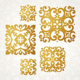 Set of vector monograms for design template. Royalty Free Stock Image