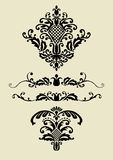 Set of vector ornaments for design Royalty Free Stock Photography