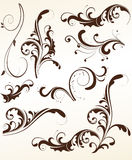 Set of vector patterns for design. Stock Photography