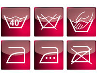 Set of vector pictograms Royalty Free Stock Image