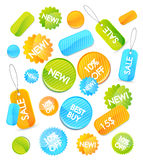 Set of vector price tags Royalty Free Stock Photo