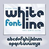 Set of vector rounded lower case English alphabet letters with white stripes. Set of vector rounded lower case English alphabet letters with white stripes, best stock illustration