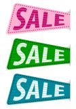 Set vector sale sticker Stock Photos