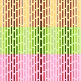 Set of vector seamless patterns. stock illustration