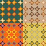 Set of vector seamless patternss Royalty Free Stock Photography