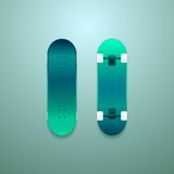 Set of vector skateboards Stock Image