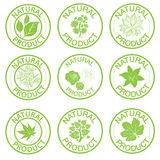 Set of vector stamps Stock Photos