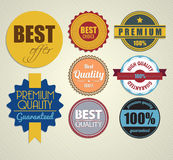 Set of vector stickers Stock Photos