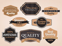 Set of vector stickers Royalty Free Stock Photography