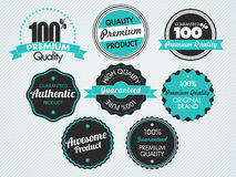 Set of vector stickers Stock Photo