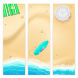 Set of vector travel banners Stock Photo