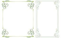 Set vector vertical frame Stock Photo