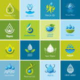 Set of vector Water icons 3. Stock Photos