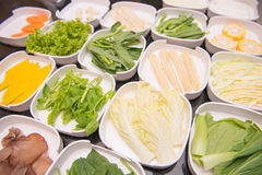 Set of vegetable for cooking