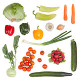 Set of vegetable Stock Image