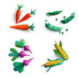 Set of vegetables. Stock Photo