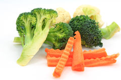Set vegetables, Fresh broccoli Royalty Free Stock Image