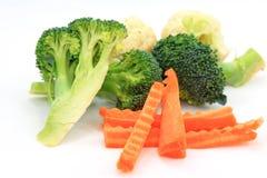 Set vegetables, Fresh broccoli Royalty Free Stock Image