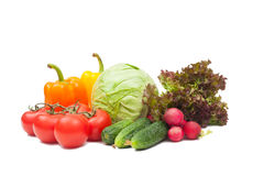 Set vegetables Stock Photography