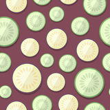 Set of Vegetables Patterns in a Flat Style - Squash and Zucchini Stock Image