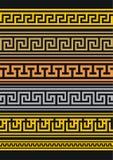 Set vektorränder Stockbilder