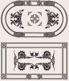 set vektortappning för ram royaltyfri illustrationer