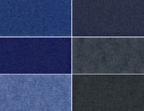 Set velvet texture. Royalty Free Stock Image