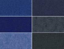 Set velvet texture. Set velvet high-resolution textures for background Royalty Free Stock Image