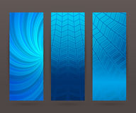 Set vertical banner background template layout flyer50 Stock Images