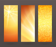 Set vertical banner background template layout flyer66 Stock Photo