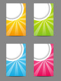 Set of vertical banners Royalty Free Stock Images