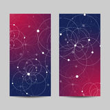 Set of vertical banners Royalty Free Stock Image