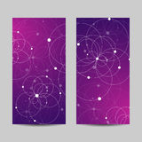 Set of vertical banners Royalty Free Stock Photo