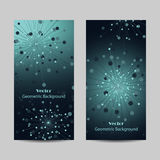 Set of vertical banners Stock Photography