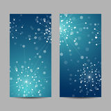 Set of vertical banners Stock Images