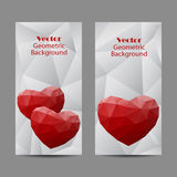 Set of vertical banners Stock Photo