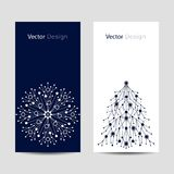Set of vertical banners Stock Image