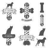 Set of vintage badge, emblem and label elements Royalty Free Stock Photography