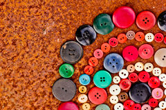 Set from Vintage buttons Stock Photography