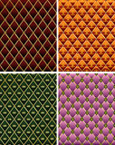 Set of vintage colorful  mosaic tile background. Royalty Free Stock Images