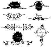 Set vintage design elements. Vector Stock Photo