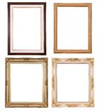 Set of vintage frame Royalty Free Stock Photography