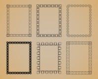 Set of  Vintage Frame. Set of  Vintage Frame for design Stock Image