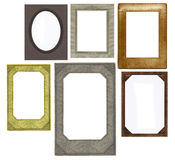 Set of vintage frames Royalty Free Stock Photography